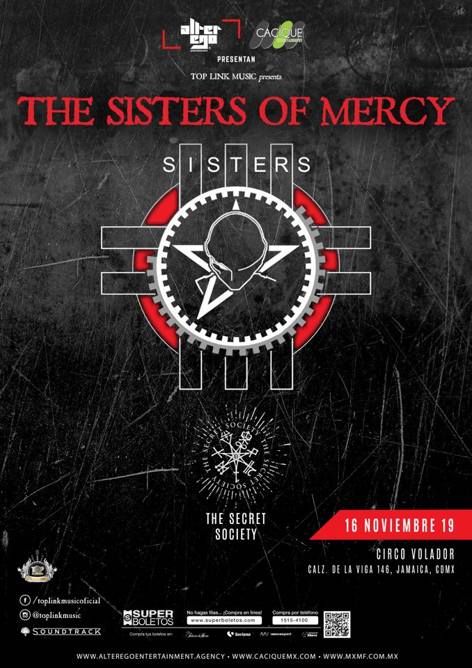 Sisters of Mercy Mexico 2019