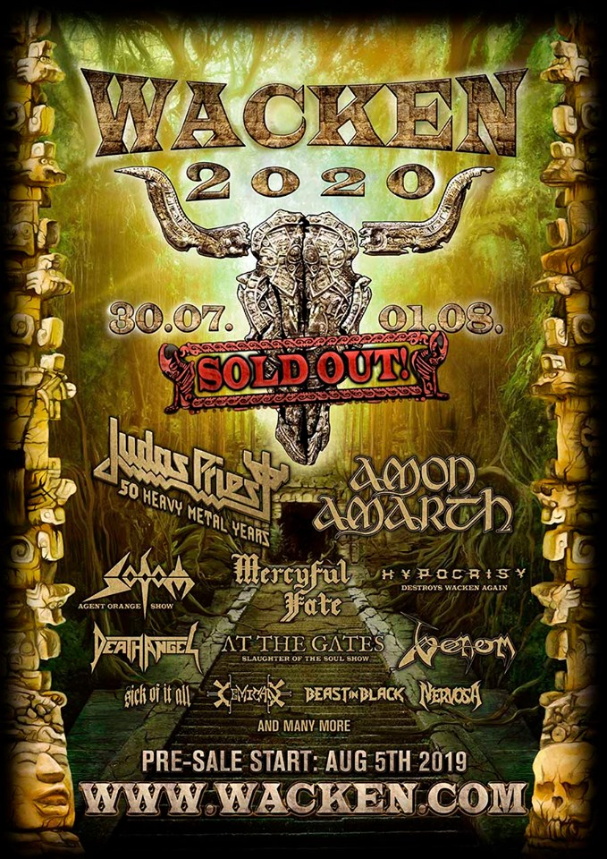 Wacken 2020 Sold Out