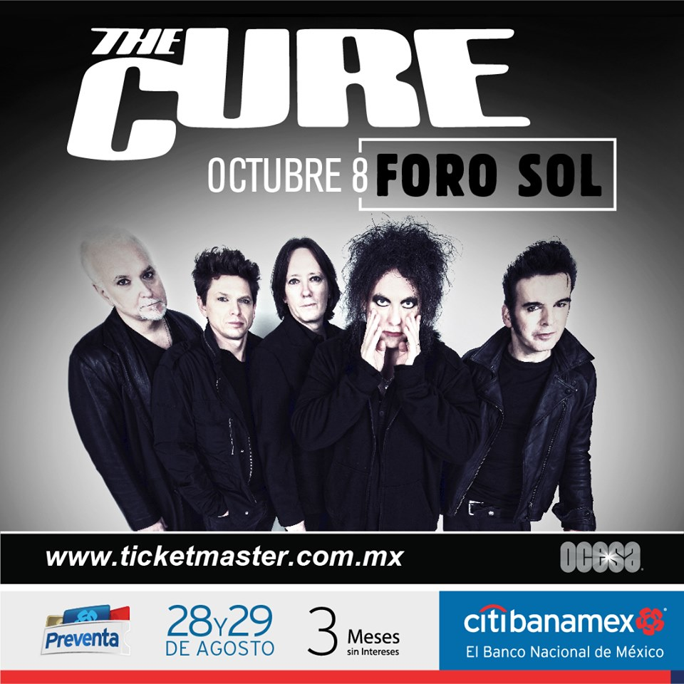 The Cure Mexico 2019