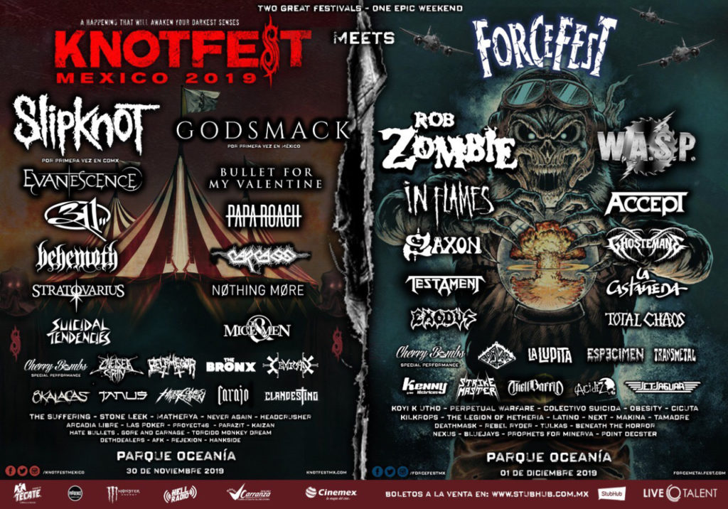 Knotfest Mexico Force Fest 2019