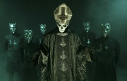 ghost band papa emeritus iii nameless ghouls doom uai