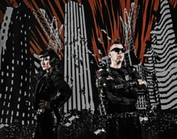kmfdm hell yeah press pictures copyright earmusic credit fra uai