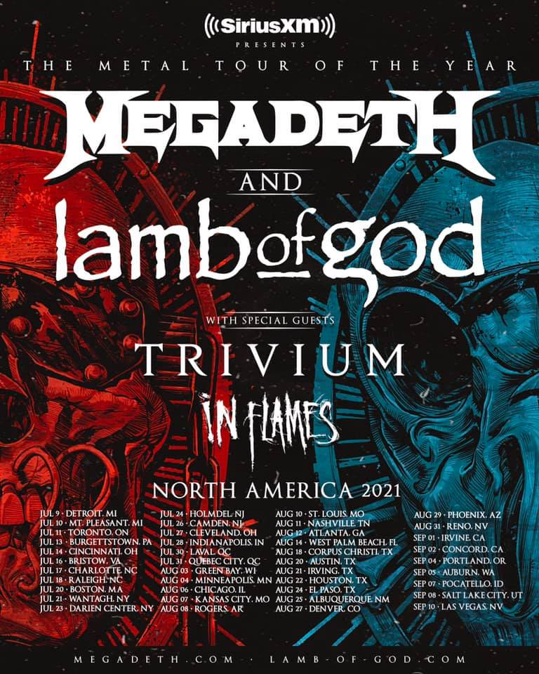 Metal Tour of The Year 2021
