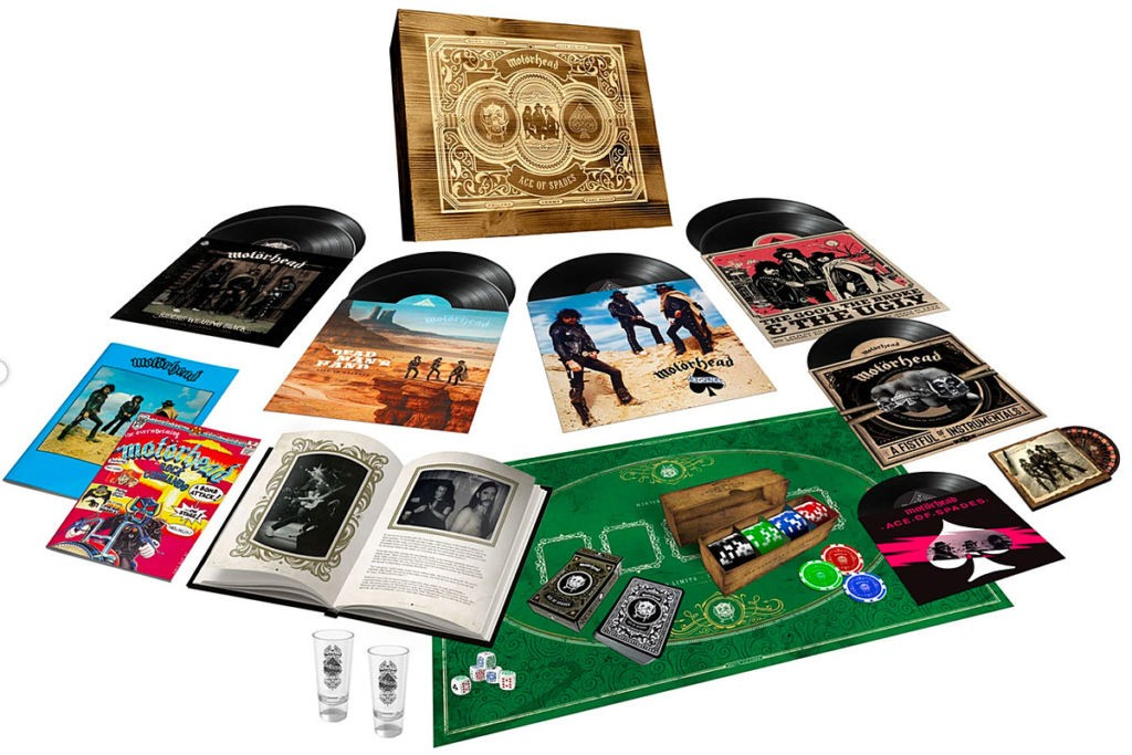Motorheads Ace of Spades to Get 40th Anniversary Vinyl Box Set