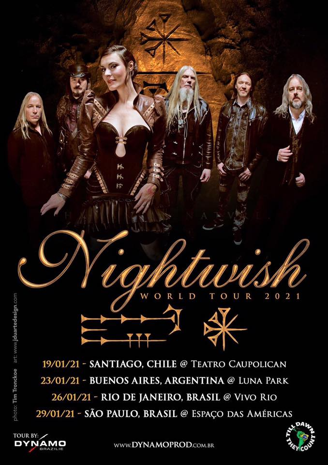 Nightwish latino 2020