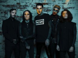 Scranton metal band Motionless In White new album Disguise meet and greet Gallery of Sound Wilkes Barre 2019 uai