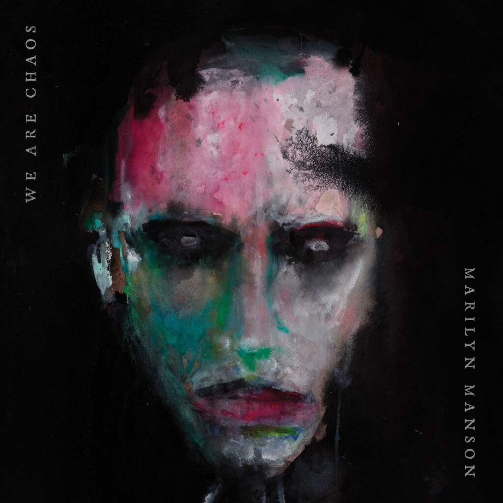 marilyn manson we are chaos cover