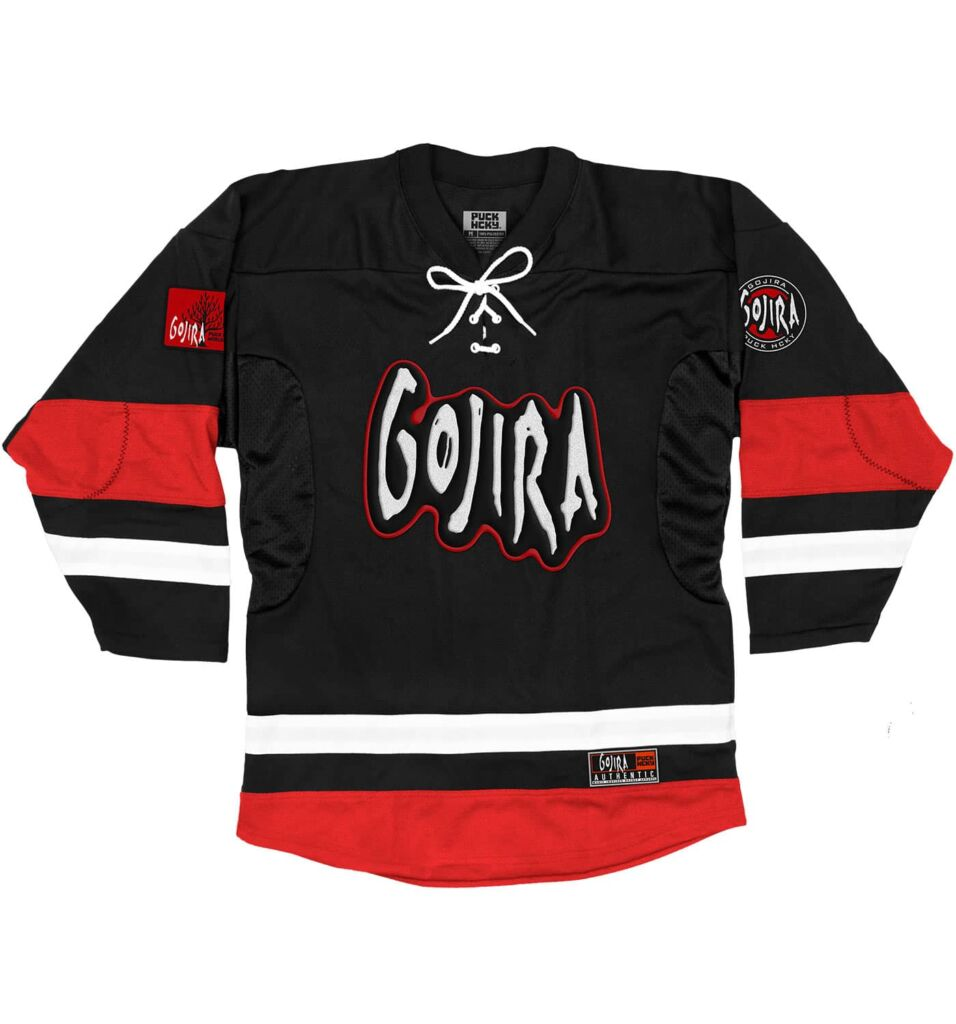 gojira a skate to behold jersey black front